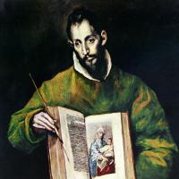 Эль Греко (Доменико Теотокопули). Святой Лука как художник