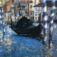 Эдуар Мане. Большой Канал в Венеции (Голубая Венеция)