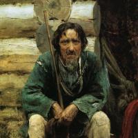 Василий Дмитриевич Поленов. Сказитель былин Никита Богданов