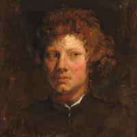 Антонис ван Дейк. Голова молодого человека