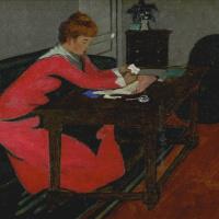 Мизиа Серт за столом