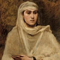 Камиль Коро. Алжирская женщина