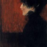 Густав Климт. Профиль женщины