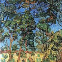 Винсент Ван Гог. Больница в Сен-Реми