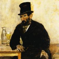 Жан-Франсуа Рафаэлли. Пьющий абсент