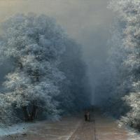 Иван Константинович Айвазовский. Зимний пейзаж