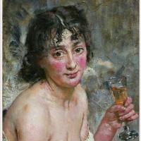 Ханс Хейердал. Девушка с шампанским