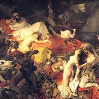 Эжен Делакруа. Смерть Сарданапала I (1827)