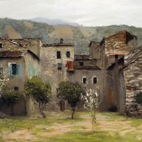 Близ Бордигеры. На севере Италии.  Вариант одноименной картины 1890 года