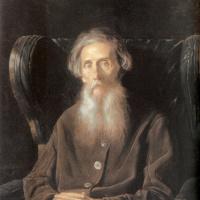 Василий Григорьевич Перов. Портрет писателя Владимира Ивановича Даля