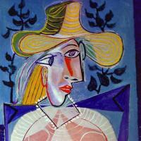 Пабло Пикассо. Портрет молодой девушки