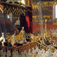 Коронация Николая II и Александры Федоровны