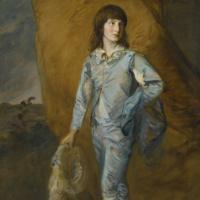 Томас Гейнсборо. Юный паж в голубом (Голубой паж)