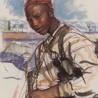 Zinaida Serebryakova. The water pot. Morocco