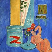 Henri Matisse. Red fish and sculpture