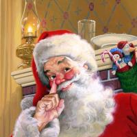 Том  Ньюсом. Санта