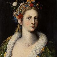 Джузеппе Арчимбольдо. Флора (Flora meretrix)