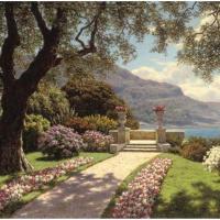 Сад с видом на море