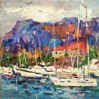 Yachts in Kotor