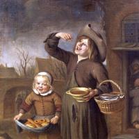Ян Стен. Мальчик ест патоку