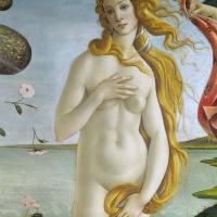 Рождение Венеры (фрагмент)