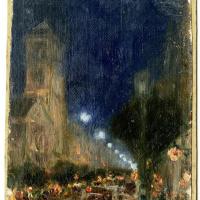 Хоакин Соролья (Соройя). Бульвар в Париже