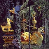 Джеймс Кристенсен. В лесу