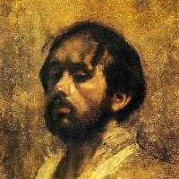 Эдгар Дега. Автопортрет