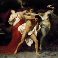 Орест, преследуемый Фуриями