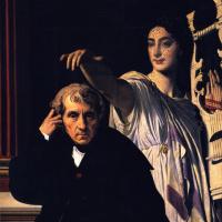 Композитор Керубини с музой лирической поэзии