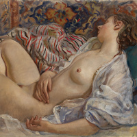 Sleeping Nude (Katya)