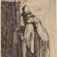 Рембрандт Харменс ван Рейн. Слепота Товита. Набросок