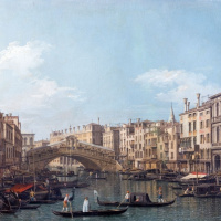 Rinaldi Bridge in Venice (St. Mark's Square)