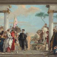 Приезд Генриха ІІІ на виллу Контарини