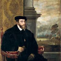 Портрет императора Карла V в кресле
