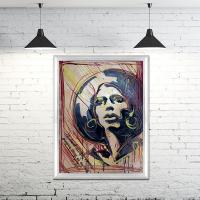 """Alexander Николаевич Ivanov. """"Old poster"""""""