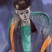 Henri Matisse. Portrait of the artist's wife