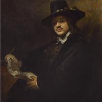 Рембрандт Харменс ван Рейн. Портрет молодого художника