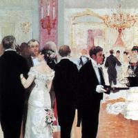 Жан Беро. Свадебный прием