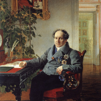 Portrait of member of State Council Prince A. N. Golitsyn