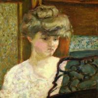 Misia at the piano (Portrait of Mizia Nathanson)