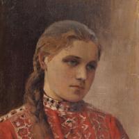 Портрет Марии Высоцкой