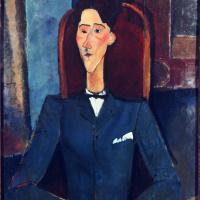 Амедео Модильяни. Портрет Жана Кокто