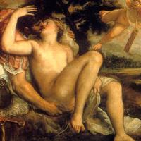 Тициан Вечеллио. Марс, Венера и любовь