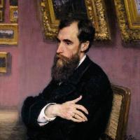 Портрет П. М. Третьякова