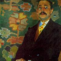 Alexander Alexandrovich Murashko. Portrait Degtyarev