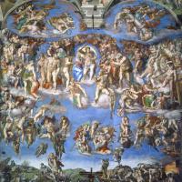Микеланджело Буонарроти. Страшный суд, общий вид