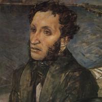 Кузьма Сергеевич Петров-Водкин. Пушкин в Петербурге
