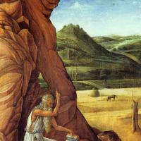Джованни Беллини. Святой Иероним в пустыне