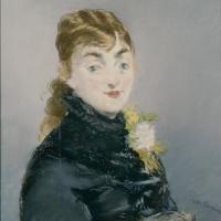 Портрет Мэри Лоран с моськой